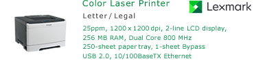 See Pricing for Lexmark CS310 Color Laser Printer