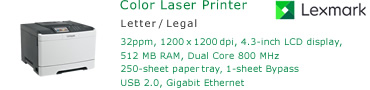 See Pricing for Lexmark CS510 Color Laser Printer