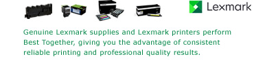 Find Supplies for your Lexmark Printer or Multifunction
