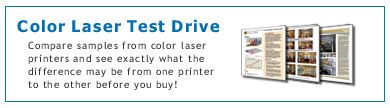 Color Laser Test Drive