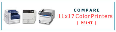 Compare 11x17 Color Laser Printers