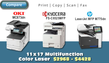 11x17 Multifunction Color Laser