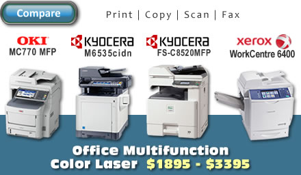 Office Multifunction Color Laser