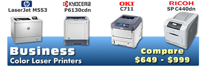Business Color Laser Printers