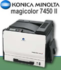 Read review on the Konica-Minolta magicolor 7450 II