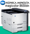 Read review of the Konica-Minolta magicolor 8650dn