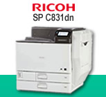 Read review of the Ricoh SP C831dn