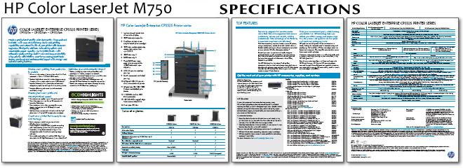 Hp Color Laserjet Enterprise M750