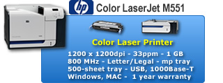 Color LaserJet 500