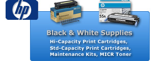 HP B&W Supplies