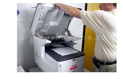 Color Laser Printer Review Oki Mc873dn