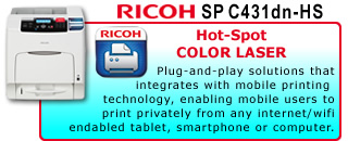 SP C431DN-HS Hot-Spot
