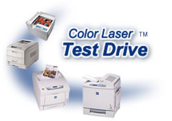 Take our Color Laser Test Drive for only $19.95