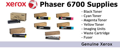 See Pricing on Supplies for Phaser 6700