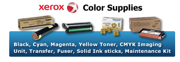 Xerox Color Supplies