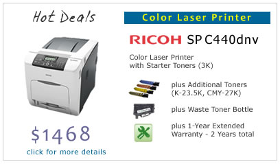 Hot Deals - Ricoh SP C440dnv