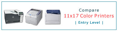 Compare 11x17 Color Laser Printers - Entry Level