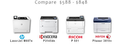 Compare Small-Office Black and White Laser Printers