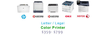Small-Office Color Laser Printers