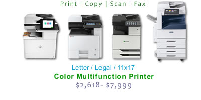 11x17 Office Multifunction Color Laser Printers