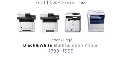 Compare B&W Multifunction Printers
