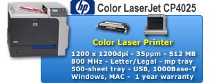 Color LaserJet CP4025
