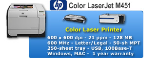 Color LaserJet M451