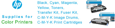 Find HP Supplies for Color Laser Printers