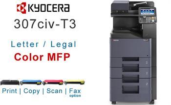 Kyocera Copystar CS 307civ Color Multifunction Printer