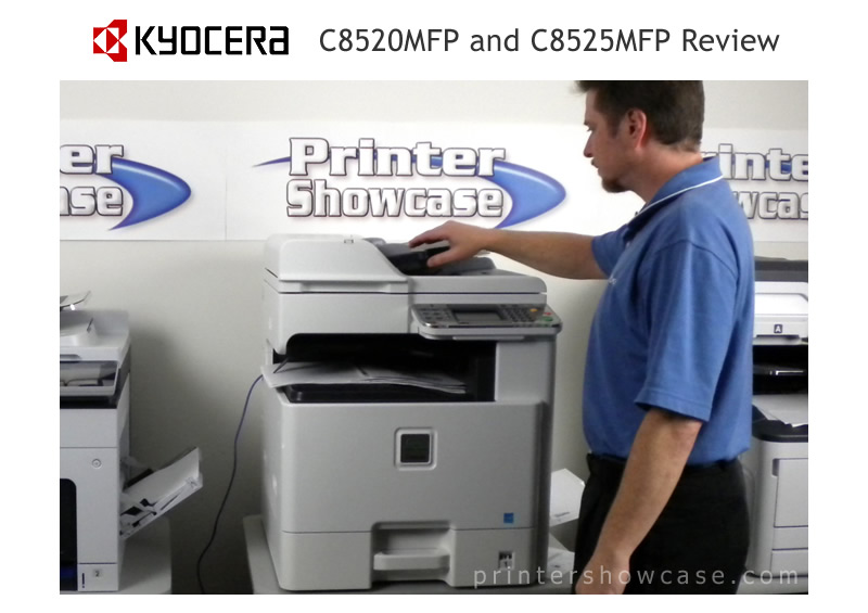 Color Laser Printer Review - Kyocera C8520MFP/C8525MFP
