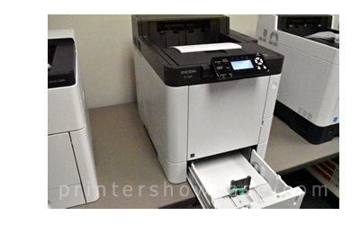 Color Laser Printer Review - Ricoh P C600