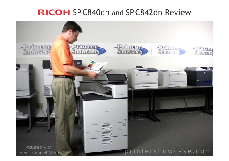 Color Laser Printer Review - Ricoh SP C840dn